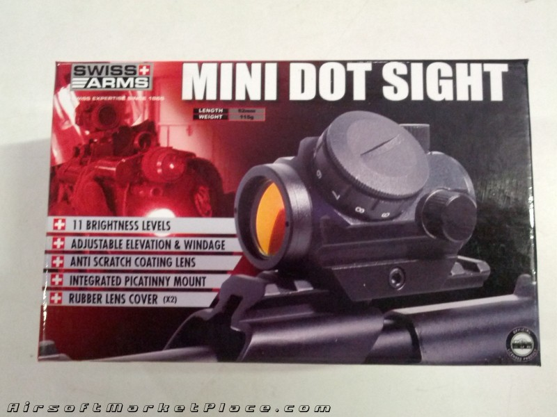 ADJUSTABLE MINI DOT SIGHT