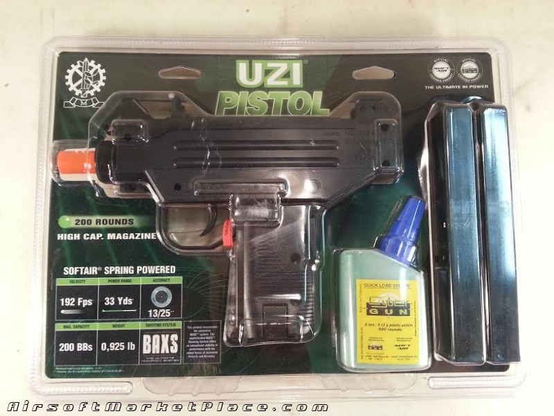 UZI Pistol 192 FPS