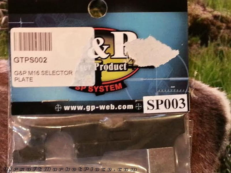 G&P M16 SELECTOR PLATE