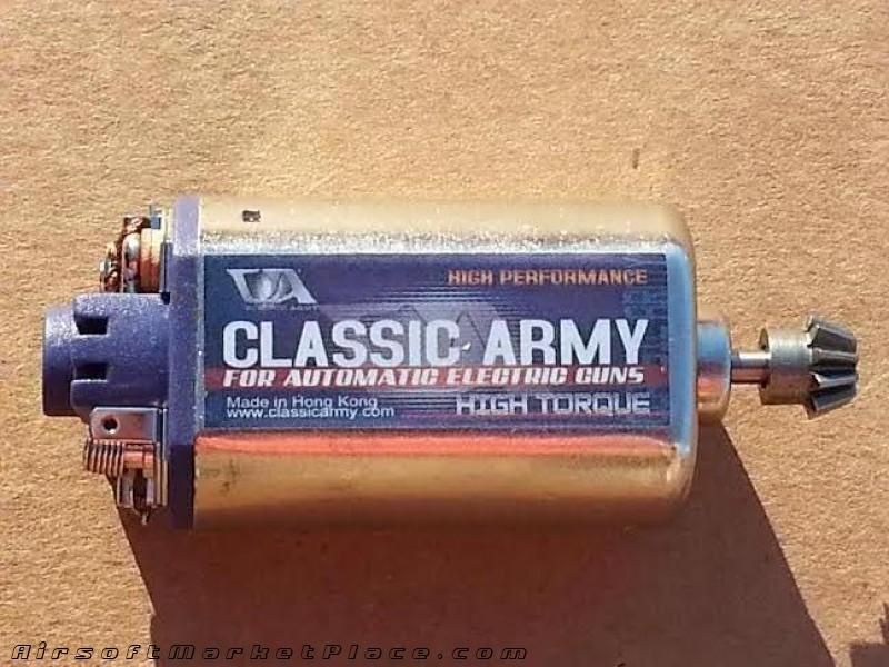 CLASSIC ARMY HIGH TORQUE MOTOR