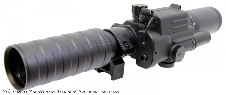 3-9x32 VARIABLE SCOPE (LASER)