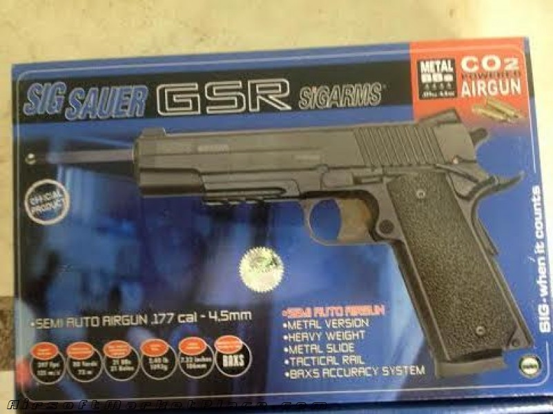 SIG SAUER GSR SIGARMS CO2 .177