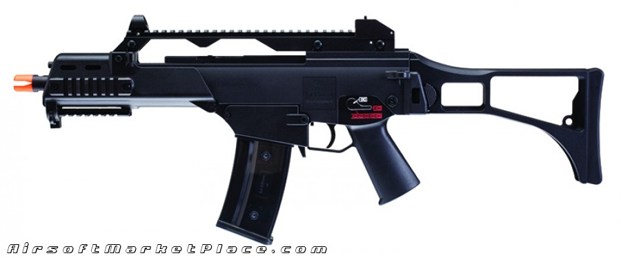 HK G36C ELITE LEVEL AEG BLACK