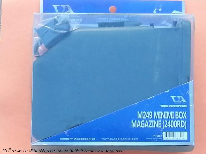 M249 MINIMI BOX 2400 RD MAG