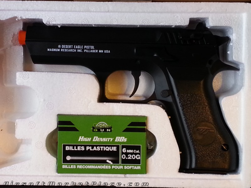 BABY DESERT EAGLE CO2 443 FPS