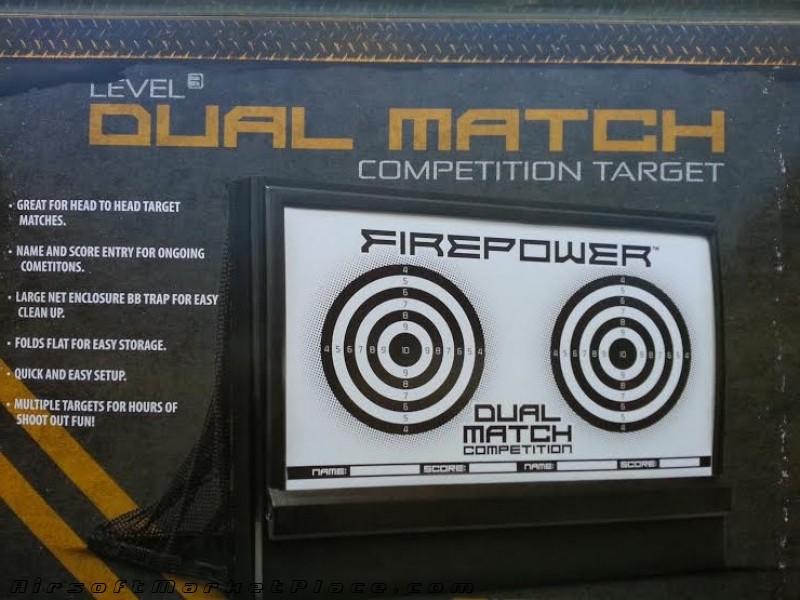 FIREPOWER DUAL MATCH TARGET