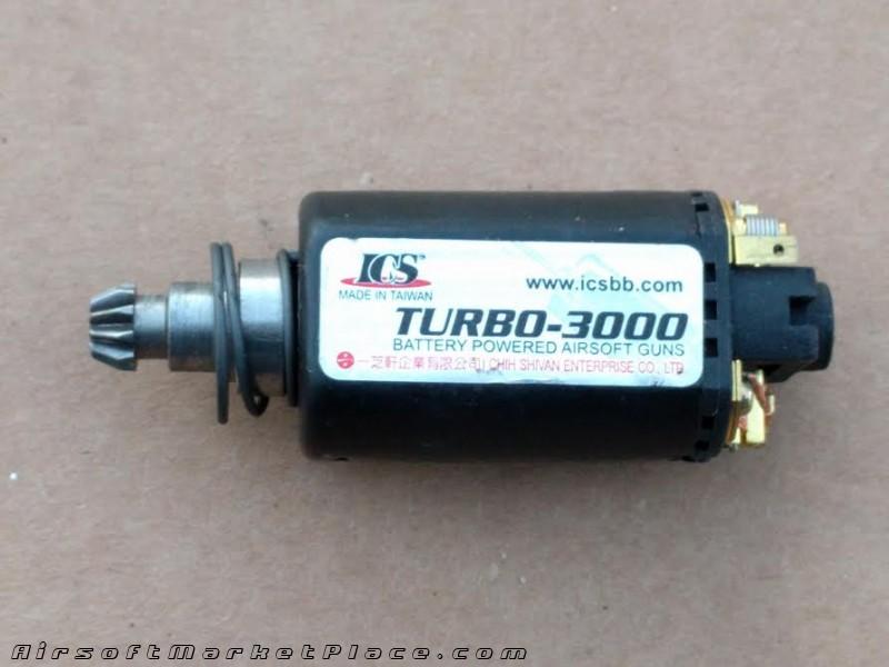 ICS TURBO-3000 MOTOR SHORT