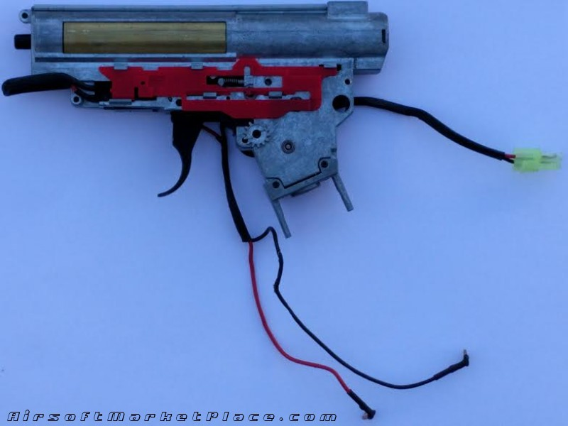 KING ARMS SIG 556 GEARBOX VER3