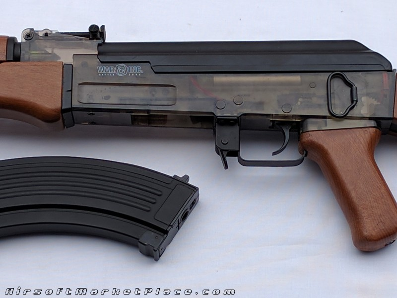 AK47 METAL GEAR CYBERGUN USED