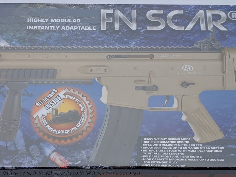 FN HERSTAL SPRING SCAR RIFLE