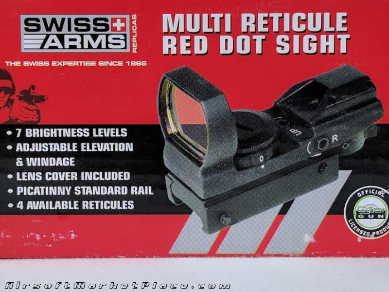 SWISS ARMS MULTI RETICULE SITE