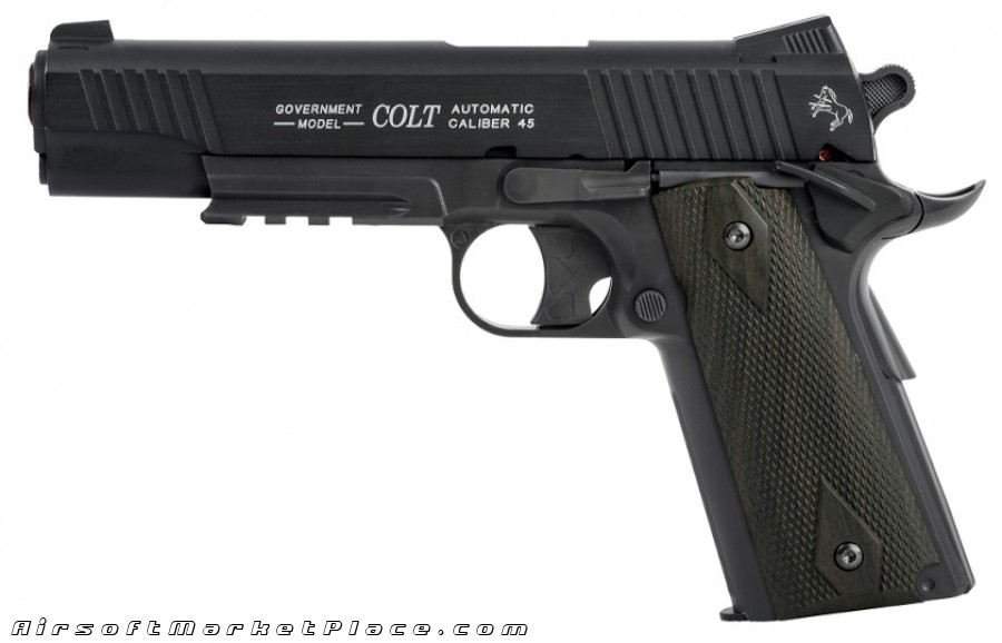 1911 RAIL GUN CO2 NON BLOWBACK