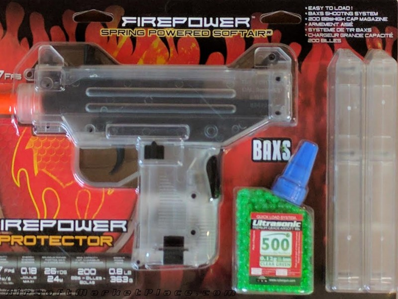 FIREPOWER PROTECTO UZI CLEAR