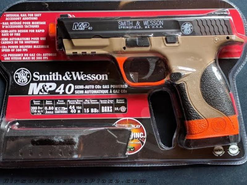 SMITH&WESSON M&P40 CO2 PISTOL
