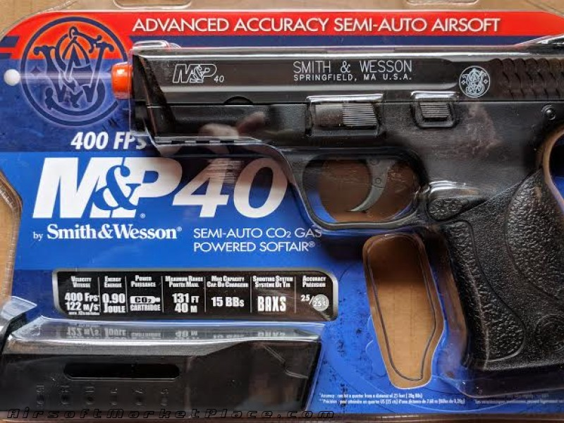 SMITH&WESSON M&P40 CO2 PISTOL