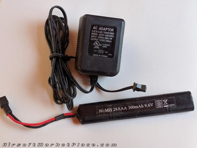 BATTERY/CHARGER FOR H&K AEG