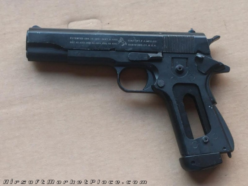 COLT 1911A1 PISTOL BODY W/MAGS