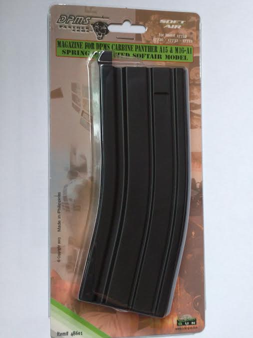 MAGAZINE FOR DPMS CARBINE PANTHR A15 & M16-A1