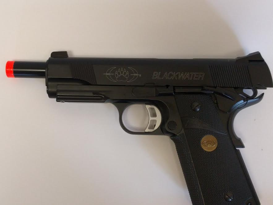 BLACKWATER BW 1911 BLOW BACK GAS PISTOL