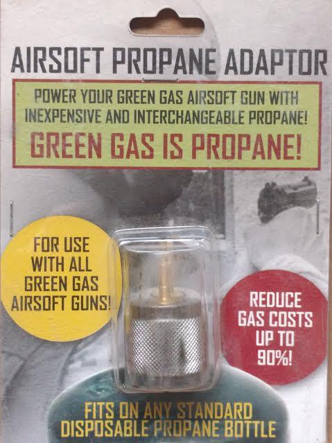 AIRSOFT PROPANE ADAPTOR