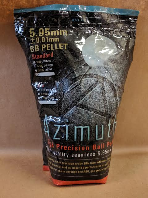AZIMUTH HIGH PRECISION PELLET .25GM