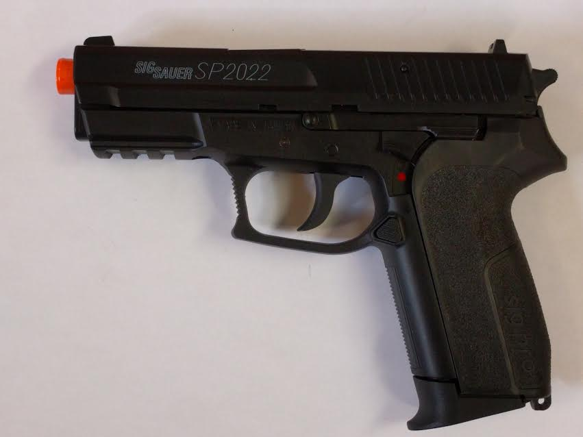 Swiss Arms Sig Sauer SP2022 FPS-395 CO2 Airsoft Pistol