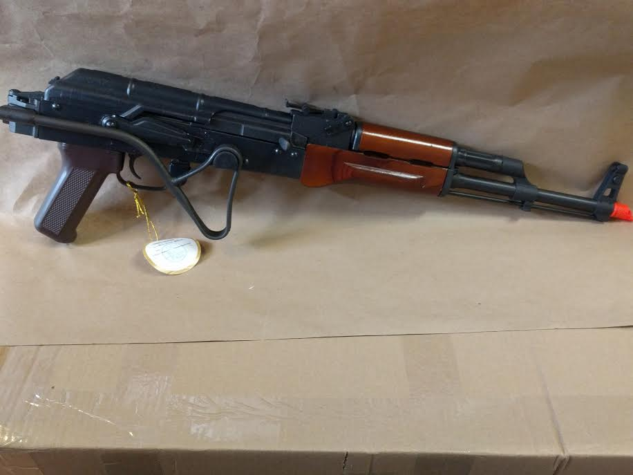 AK47 AIR MOD A Real Wood/Steel Side Folding Stock by E&L