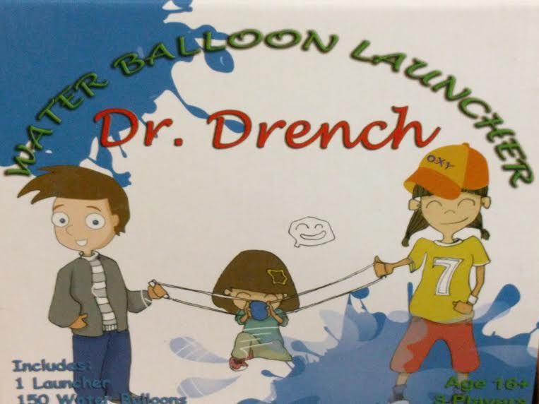 DR. DRENCH WATER BALLOON LAUNCHER