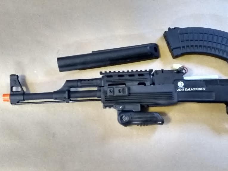 KALASHNIKOV AK47 TACTICAL FOLDING STOCK FULL METAL AEG