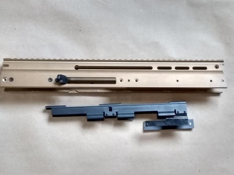METAL FN HERSTAL SCAR UPPER RECEIVER