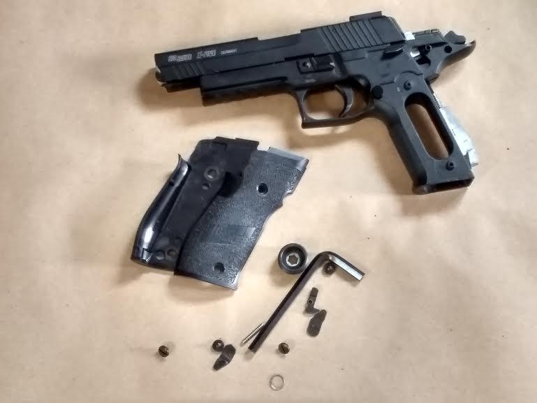 SIG SAUER X-FIVE P226 METAL BB GUN PARTS