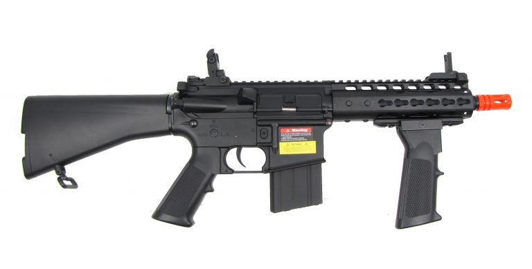 M4 Metal RIS w/Keymod Hand Guard & Fore Grip / Full Stock