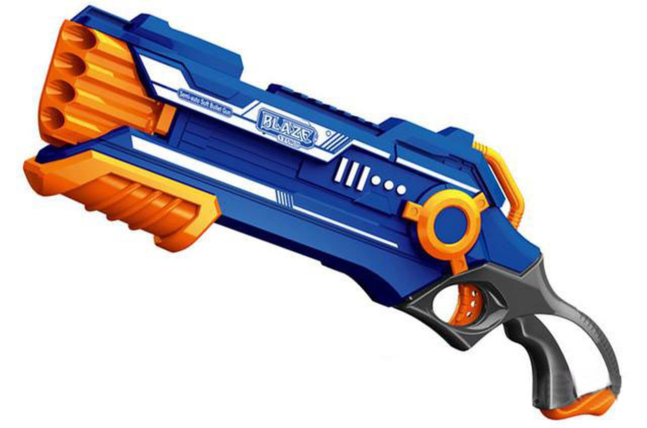 Blaze Storm Foam Blaster 7037 Pump Action Dart Gun