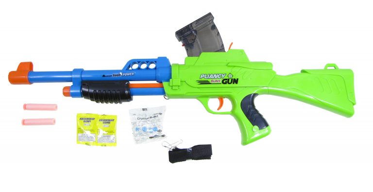 Pliancy 2-in-1 Soft & Water Bullet Toy Gun
