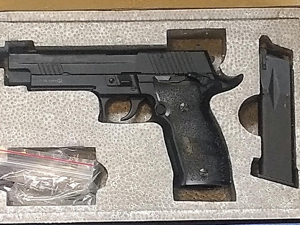 SIG SAUER X-FIVE P226 STEEL BB GUN CO2 BLOW BACK