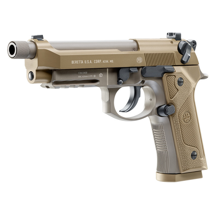 BERETTA M9A3 FULL AUTO 4.5mm CO2 STEEL BB PISTOL