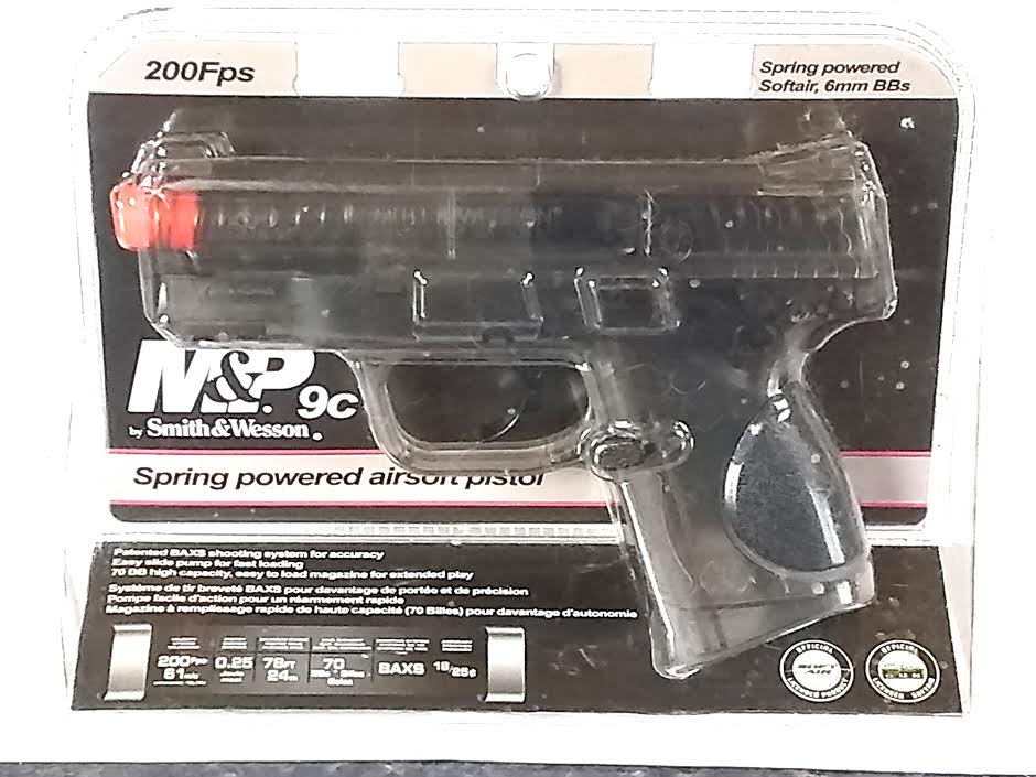 SMITH&WESSON M&P9C SPRING POWERED AIRSOFT PISTOL