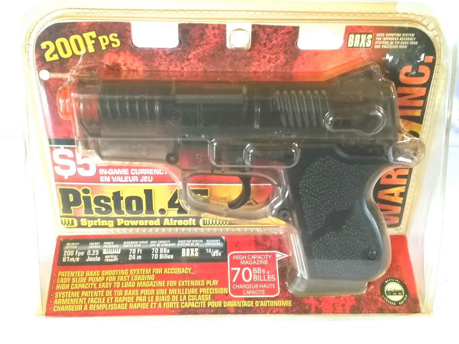 .45 SPRING AIRSOFT PISTOL