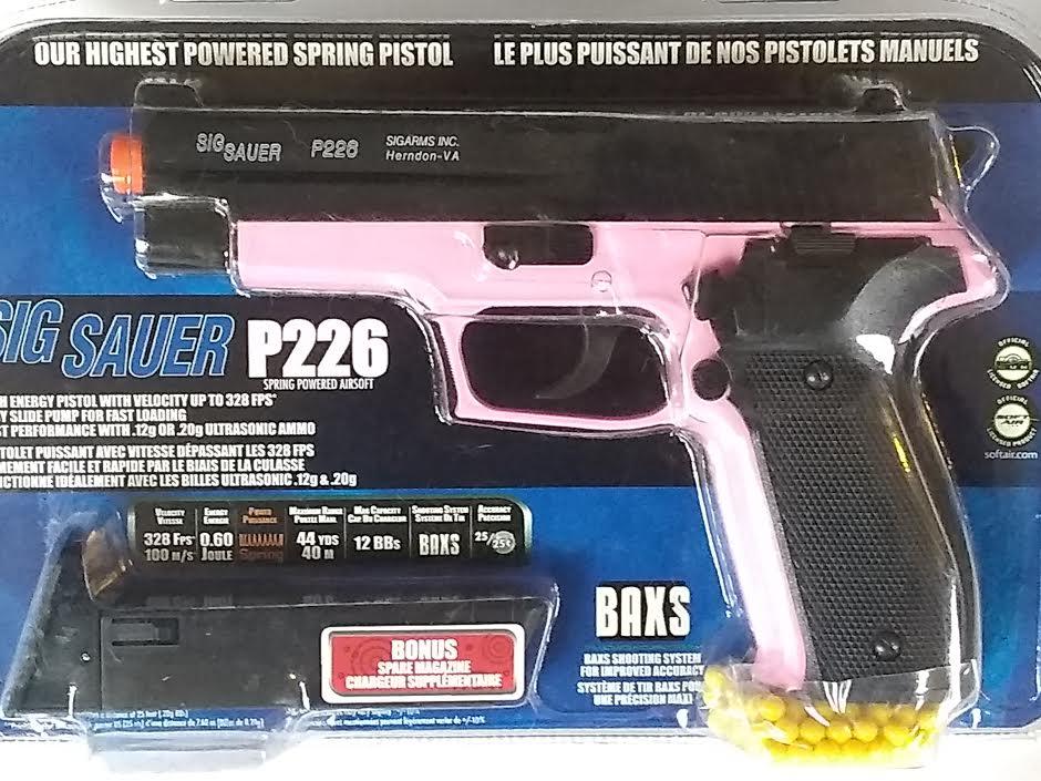 SIG SAUER P226 PING SPRING AIRSOFT PISTOL