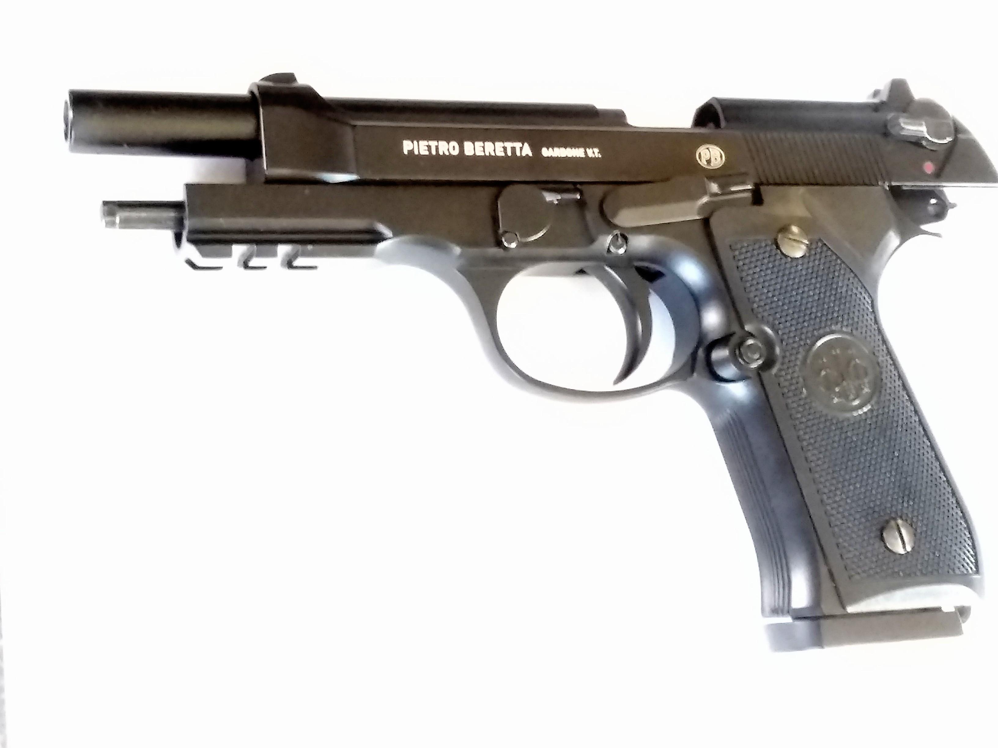 BERETTA M92 A1 FULL AUTO BB GUN .177 BLOWBACK