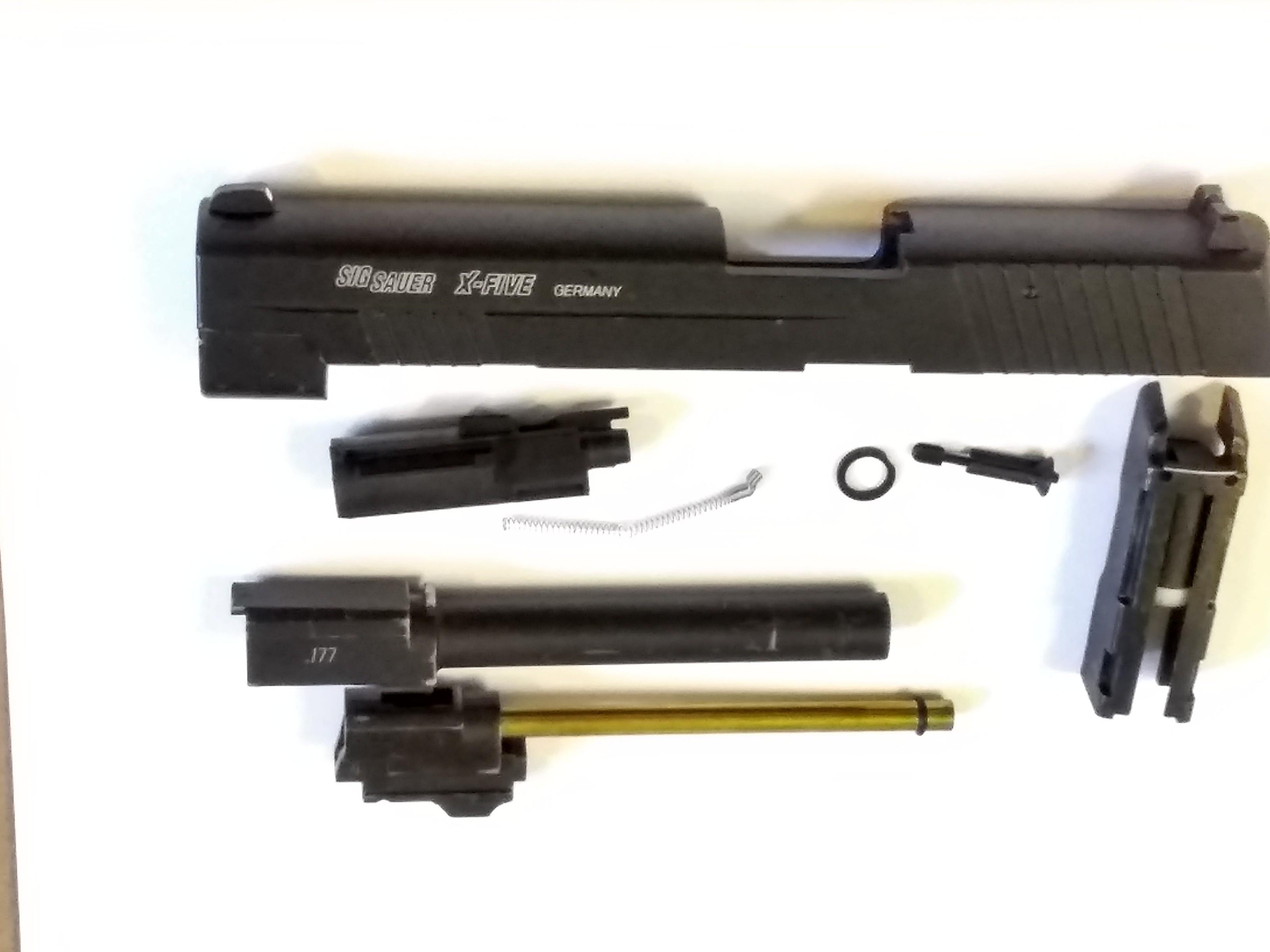 SIG SAUER X-FIVE P226 S .177 BB PARTS
