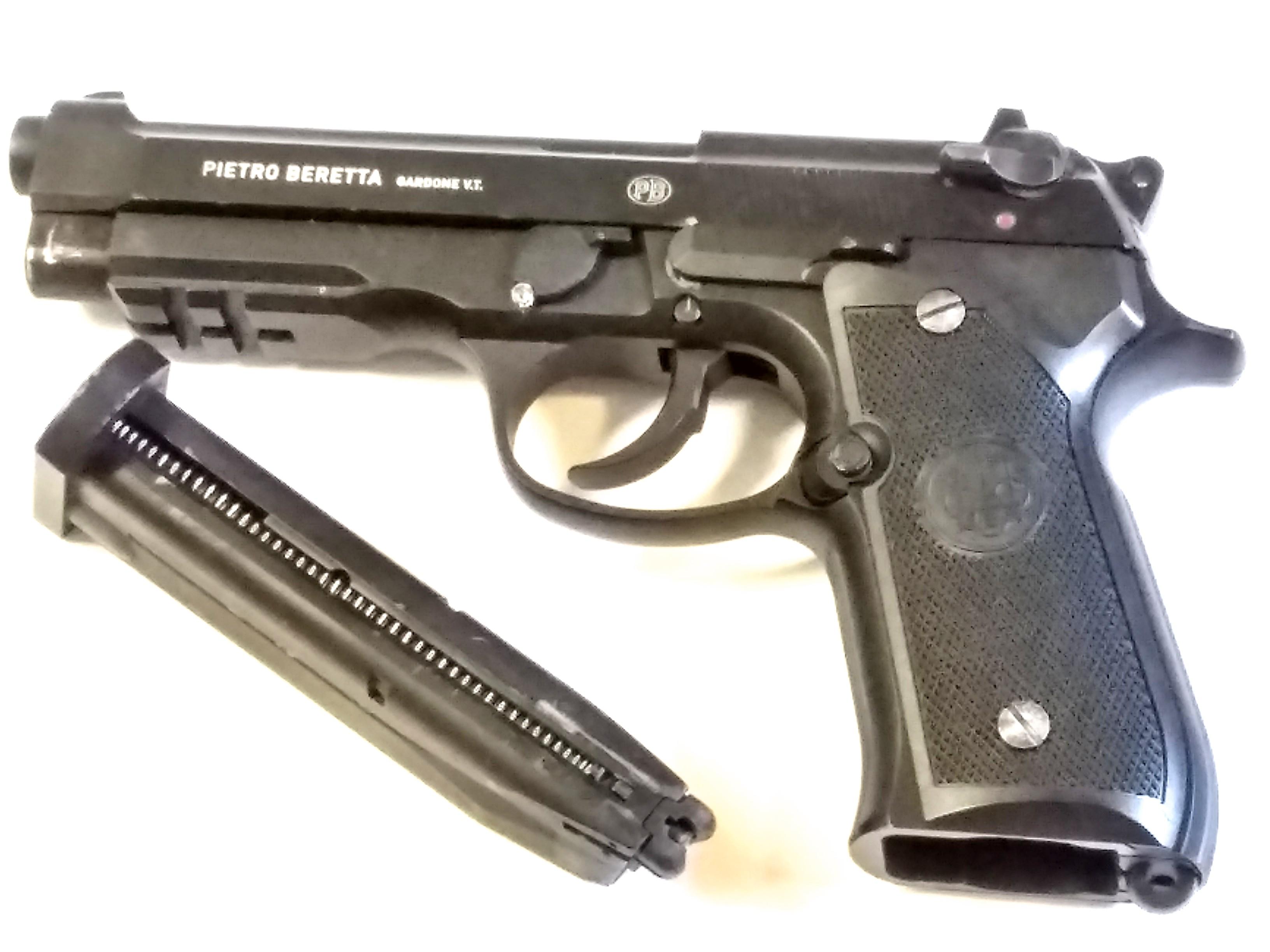 PIETRO BERETTA 92A1 4.5mm BB PISTOL