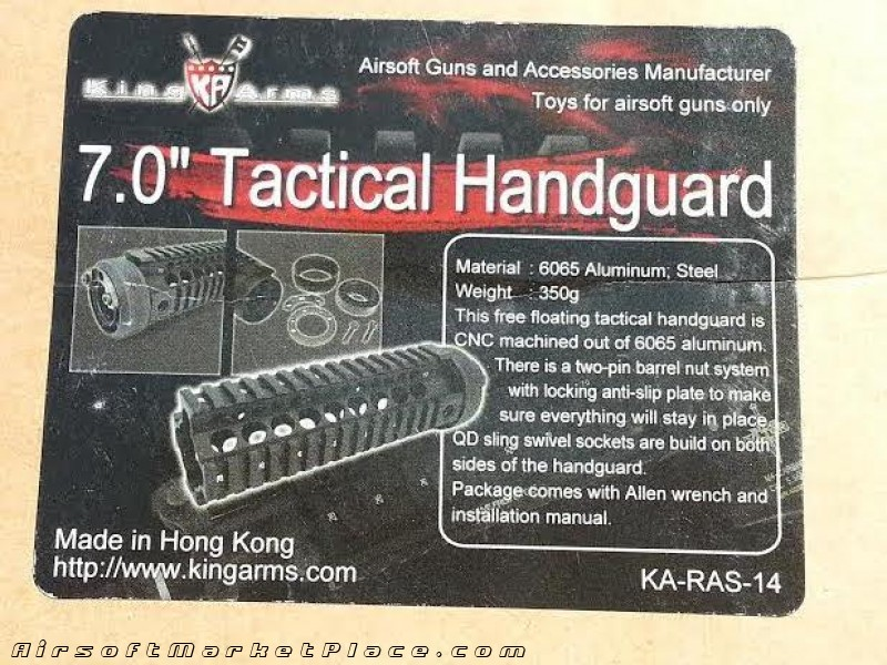 7 inch Tactical Handguard