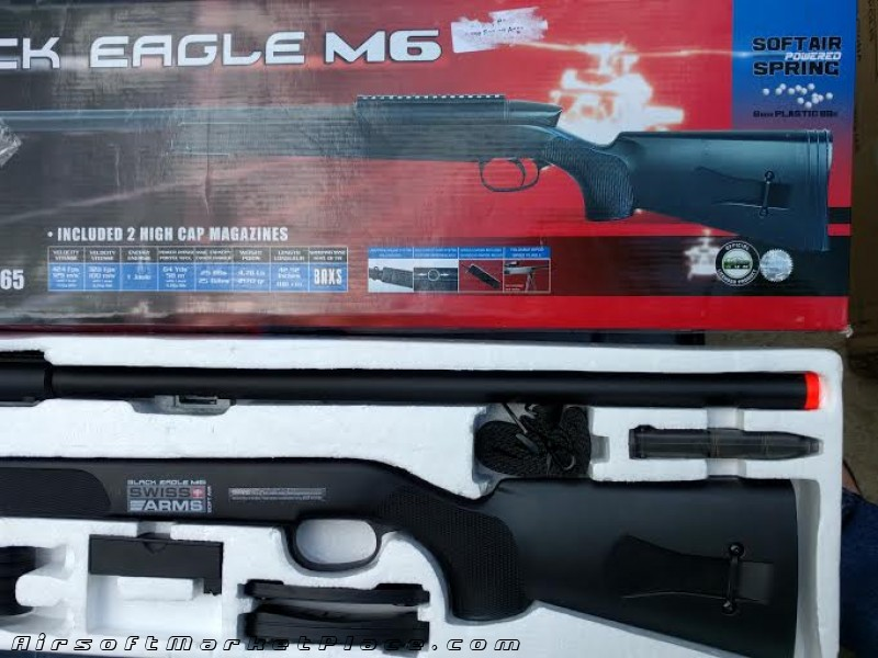 Black Eagle M6 Sniper Rifle