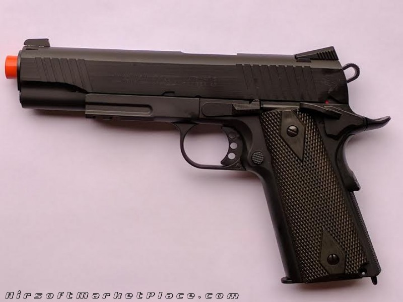 COLT 1911 RAIL GUN CO2 BLOWBACK