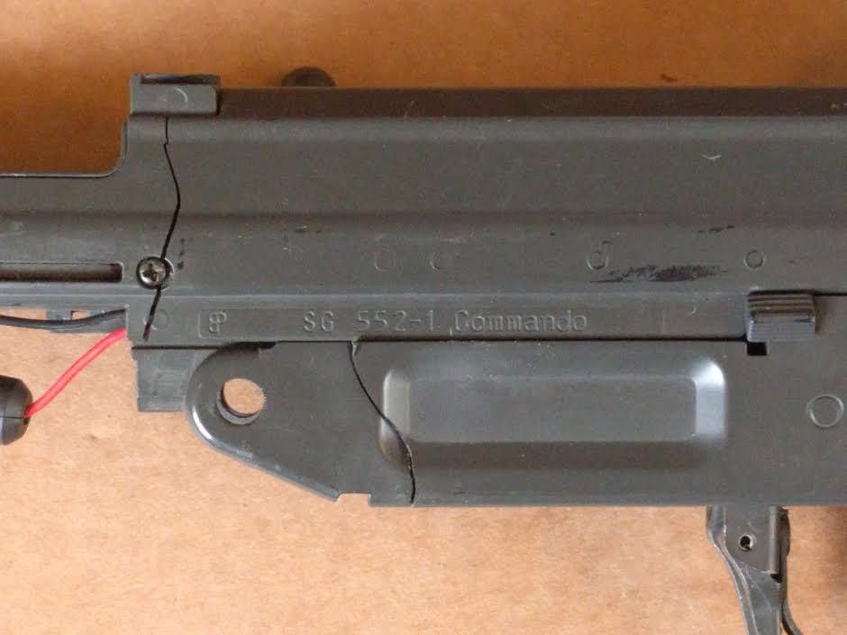 SIG 552-1 COMMANDO FOR PARTS