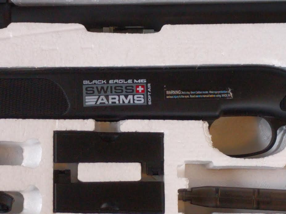 BLACK EAGLE M6 SWISS ARMS