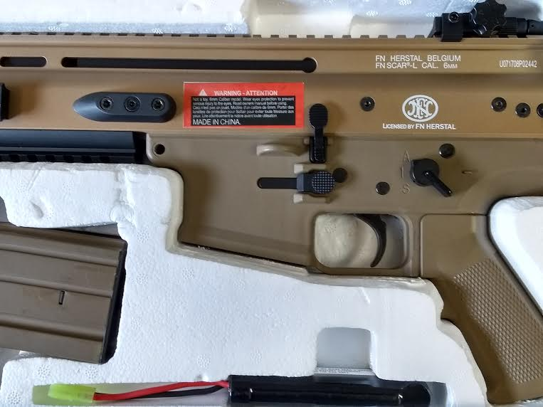 LICENSED FN HERSTAL SCAR AEG BY CYMA