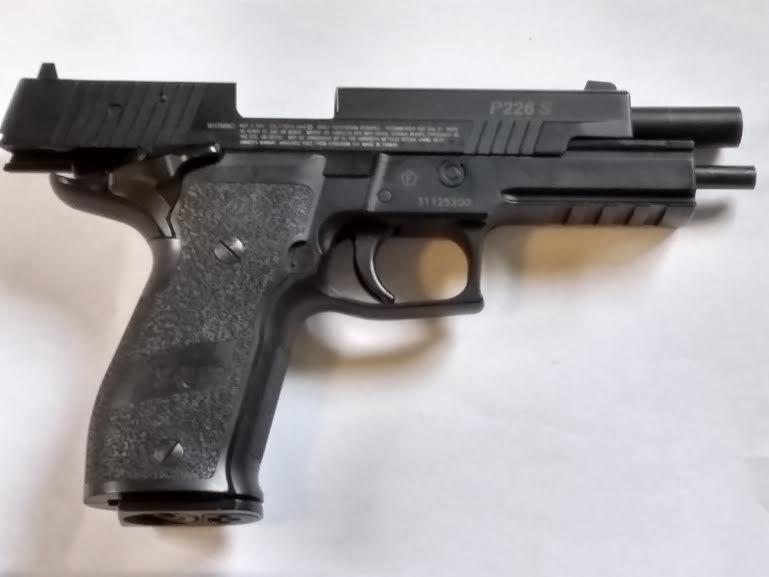 SIG SAUER X-FIVE P226 METAL BB GUN