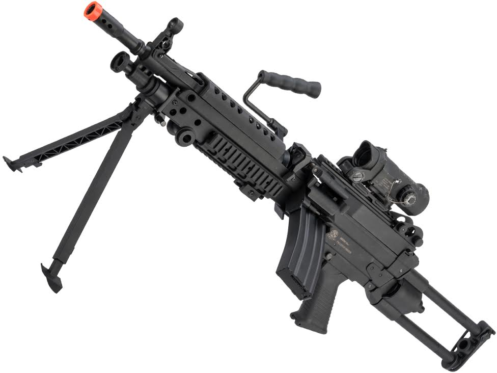 Cybergun FN Licensed M249 Para Featherweight LMG